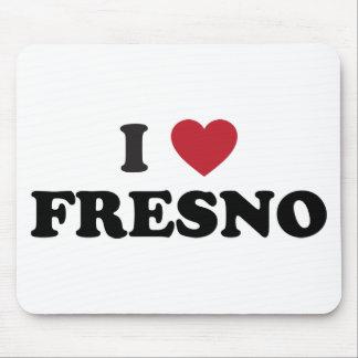 I Love Fresno California Mouse Pad