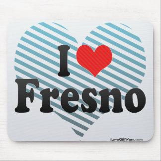 I Love Fresno Mouse Pad