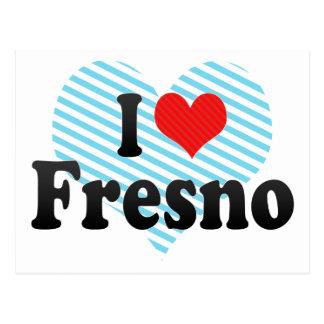 I Love Fresno Postcard