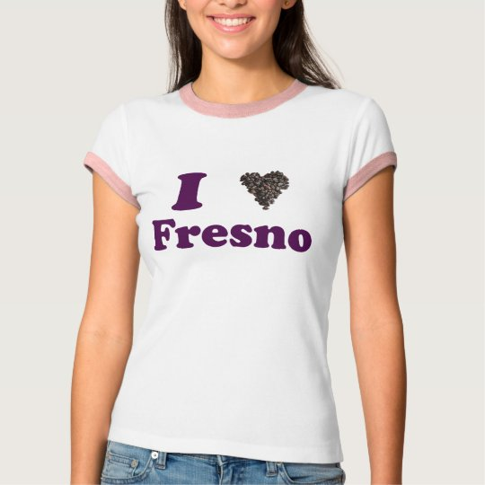 I Love Fresno Shirt