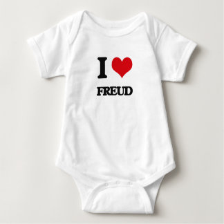 I love Freud Baby Bodysuit