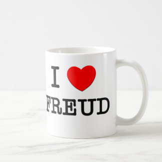 I Love Freud Coffee Mug