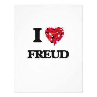 "I Love Freud 8.5"" X 11"" Flyer"