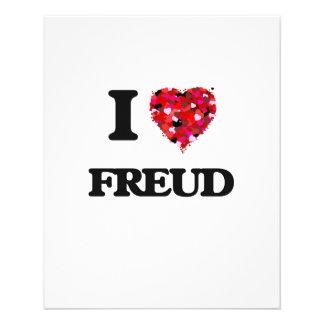 "I Love Freud 4.5"" X 5.6"" Flyer"