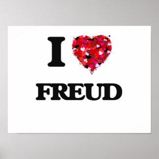 I Love Freud Poster