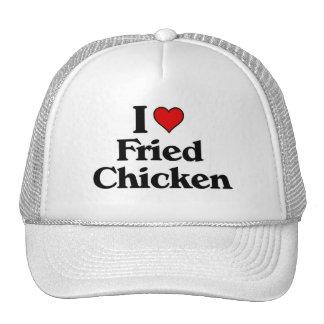 I love Fried Chicken Mesh Hats