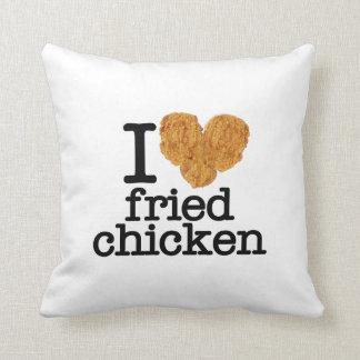 I Love Fried Chicken Pillow