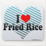 I Love Fried Rice Mouse Pad