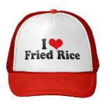 I Love Fried Rice Trucker Hat