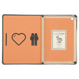 I Love Friendly Males iPad Air Covers