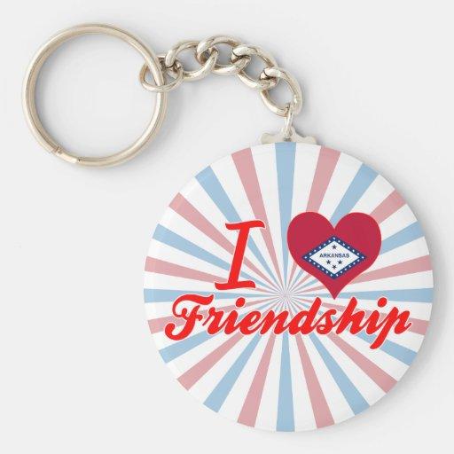 I Love Friendship, Arkansas Keychains