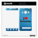 I love Friendship Decals For The HTC Evo 4G