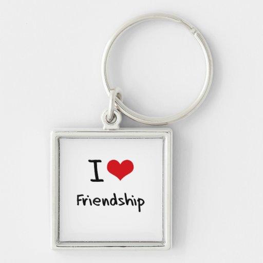 I Love Friendship Key Chain