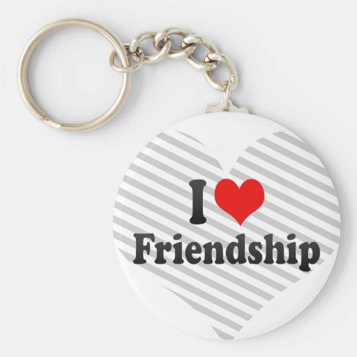 I love Friendship Key Chains
