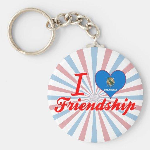 I Love Friendship, Oklahoma Key Chains