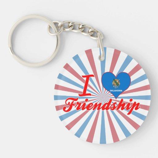 I Love Friendship, Oklahoma Keychain