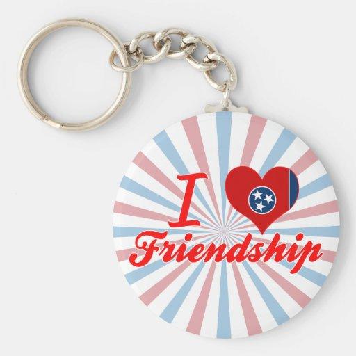 I Love Friendship, Tennessee Keychains
