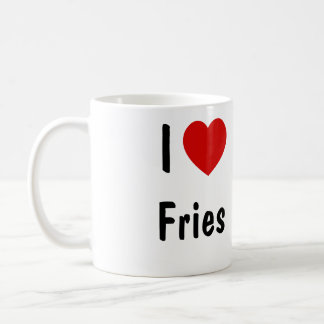 I Love Fries Coffee Mug