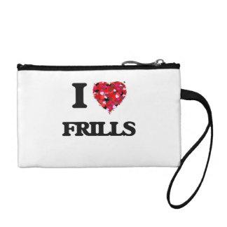 I Love Frills Change Purse
