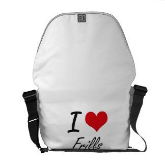 I love Frills Courier Bag