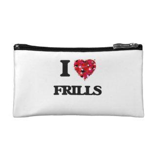 I Love Frills Makeup Bags