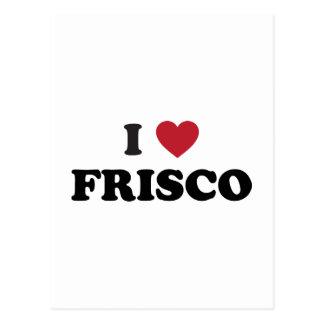 I Love Frisco Texas Postcards