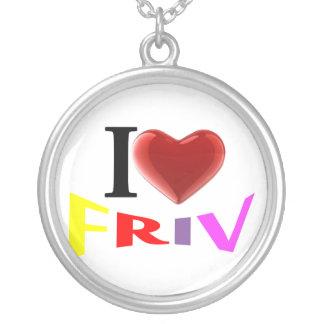 I love Friv necklace