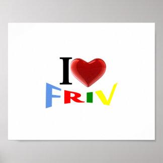 I love Friv poster