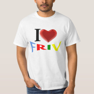 I love friv t shirt for men