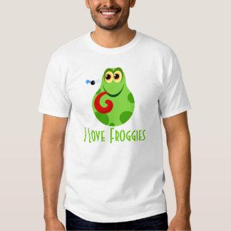 I Love Froggies Kids T-shirt