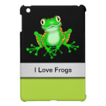 I Love Frogs iPad Mini Case