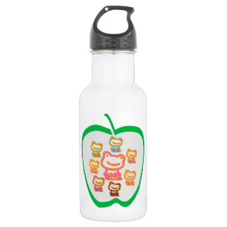 I love FROGS - Just the toy frogs ... 18oz Water Bottle