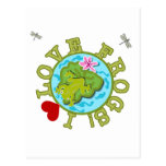 I Love Frogs Tshirts and Gifts Postcards