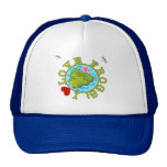 I Love Frogs Tshirts and Gifts Trucker Hats