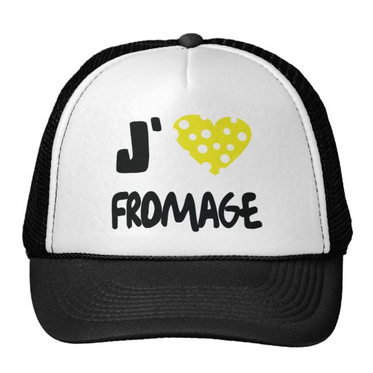 I love fromage icon trucker hat