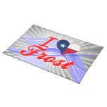 I Love Frost, Texas Placemat