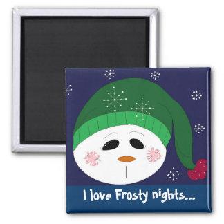 I love Frosty Nights Magnet