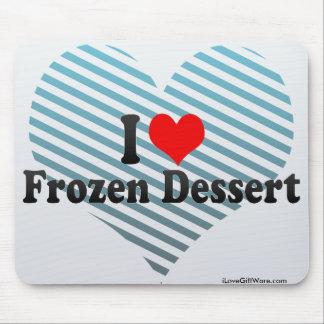I Love Frozen Dessert Mouse Pads
