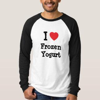 I love Frozen Yogurt heart T-Shirt