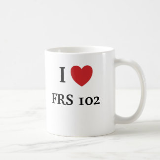 I Love FRS 102 Coffee Mug