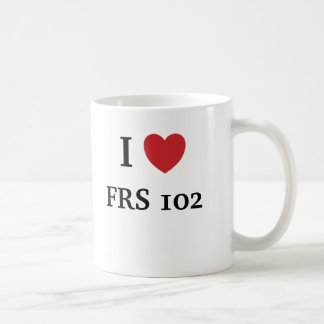 I Love FRS 102 - FRS 102 Loves me Coffee Mug