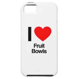 i love fruit bowls iPhone 5 cover