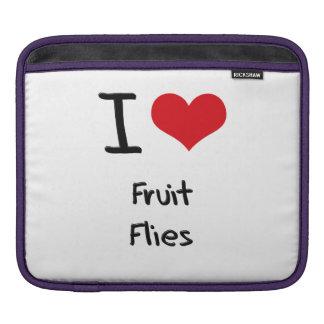 I Love Fruit Flies Sleeves For iPads