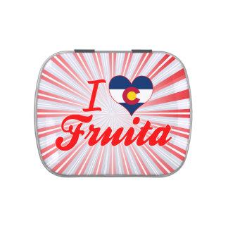 I Love Fruita, Colorado Jelly Belly Tins