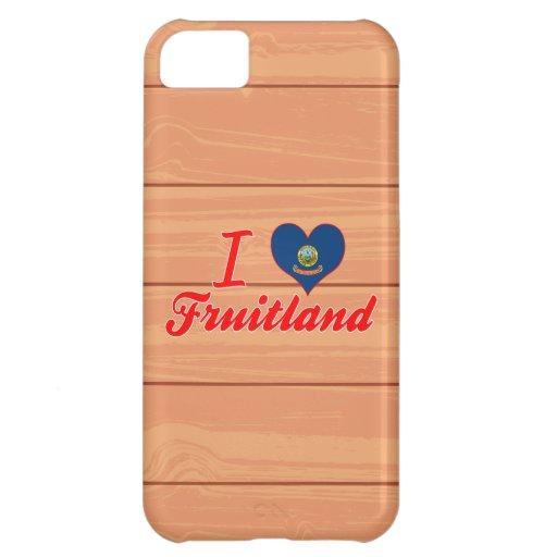 I Love Fruitland, Idaho Case For iPhone 5C