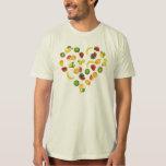 I love Fruits Tee Shirt
