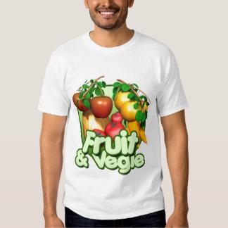 I Love Fruits & Vegies Mens, Girls, Boys Shirt
