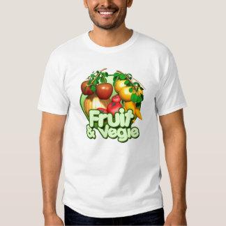 I Love Fruits & Vegies Toddler Shirt, Girls&Boys Shirt