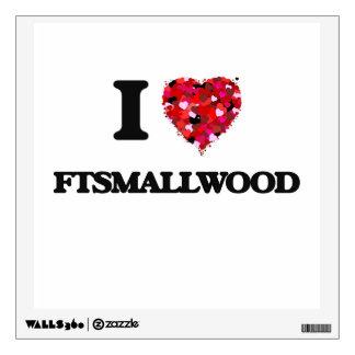 I love Ftsmallwood Maryland Room Sticker