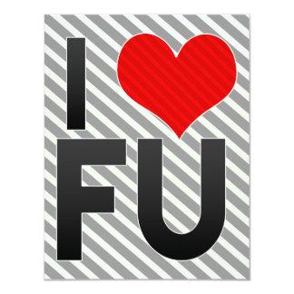 I Love FU Custom Invite